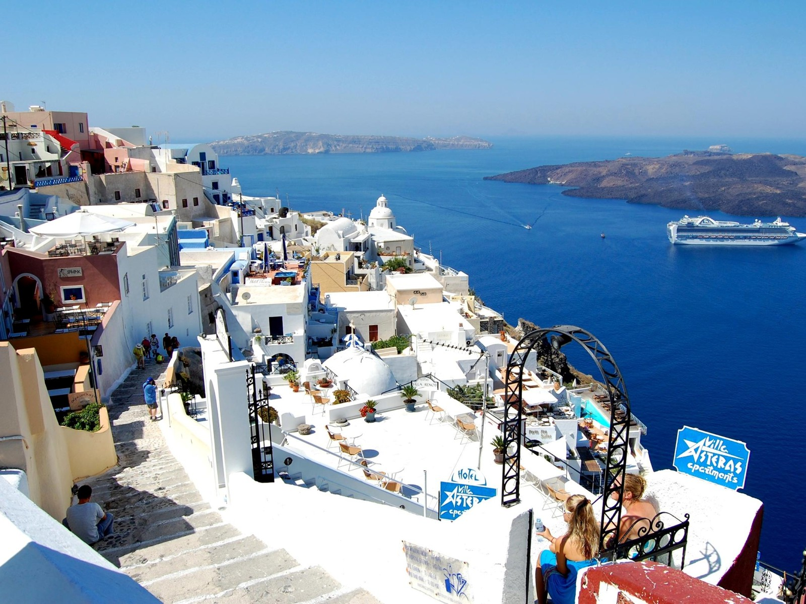 santorini Greece best places to visit this summer